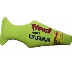 Yeowww Green Fish Catnip Toy Multi-Colored
