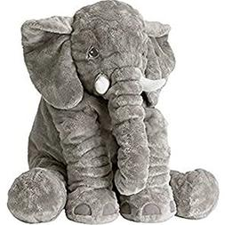 Grey Elephant Stuffed Animals Plush Toy