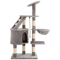 "Ollieroo 48"" H Cat Climbing Tree Tower Condo Scratcher Furni"