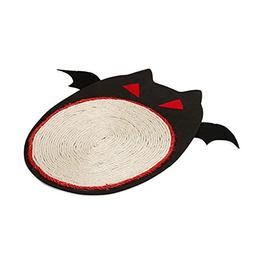KOBWA Halloween Bat Design Cat Scratcher Cardboard, Large Si