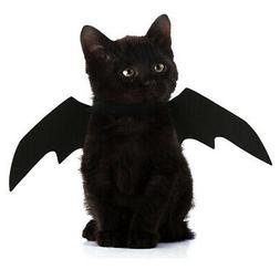 Halloween Fancy Dress Pet Cat Kitty Bat Cool Design