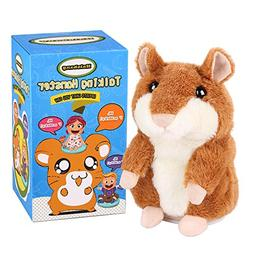 Halobang Talking Hamster Repeat What You Say Mimicry Pet Toy