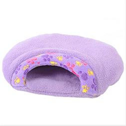 VWH Hamburger Design Washable Pet Bed Soft Dog House Cotton