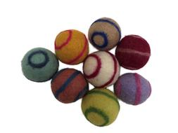 Handmade Wool Ball Cat Toys - Buy One Set - Get Second Set F