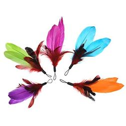 HP95 5 X Happy Kitten Cat Replacement Refill Feather for Kit
