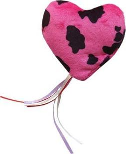 Imperial Cat - Cat and Around, Pink & White Heart Ribbon Pil