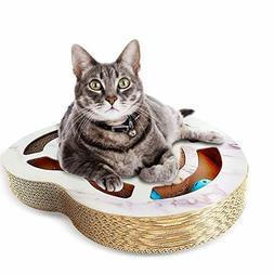 Nittis Heart-Shaped Scratcher Cat Toys Bell Balls,Cat scratc