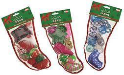 ETHICAL CHRISTMAS Ethical Products Medium Holiday Cat Stocki