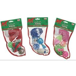 Ethical Pets Holiday Cat Toy Stocking 5pc-Small