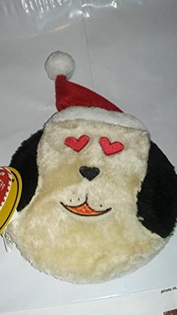 7 Inch Holiday Christmas D O G Z Love Disc With Squeaker Dog