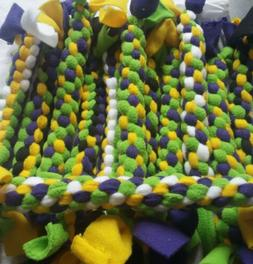 Homemade Fleece Braided Dog/ Cat Toys