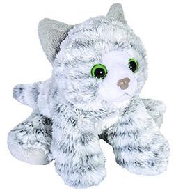 Wild Republic Tabby Cat Plush, Stuffed Animal, Plush Toy, Gi