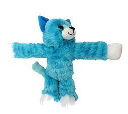 Wild Republic Huggers Blue Tabby Cat Plush, Slap Bracelet, S