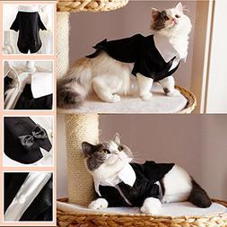 i'Pet® Handsome Prince Cat Bridegroom Wedding Tuxedo Faux T