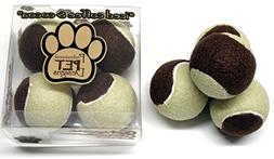 Iced Coffee & Cocoa 'Color' Dog Tennis Ball – Exercise Toy