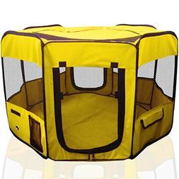 """ToysOpoly 45"""" Indoor/Outdoor Pet Playpen Cage. Best Exercise"""