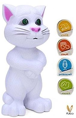 WUBU Intelligent Talking Tom Cat with Recording, Music, Stor