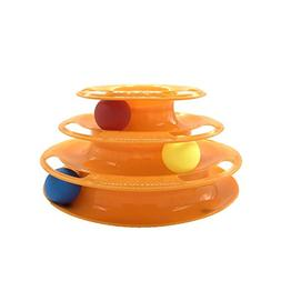 Mew Interactive Cat Ball Toy,Interactive Fun With 3-Level To