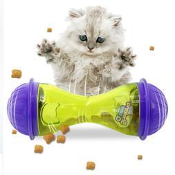 interactive cat iq treat ball toy smarter