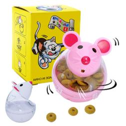 interactive cat snack toy mouse shaped food
