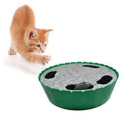 Purrfect Feline-Premium Interactive Cat Toy, Burrow Mouse, H