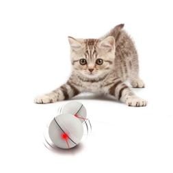 YOFUN Interactive Cat Toy 360 Degree Self Rotating Ball Auto