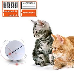 SCENEREAL Best Interactive Cat Toys Ball - Automatic Cat Rol