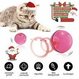 Interactive Cat Toys for Indoor Cat,Upgraded Version Self Ro