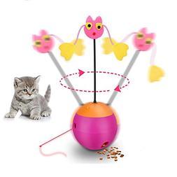 Interactive Cat Toys Happypapa 360° Multifunction Teaser Ca