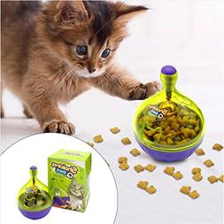 PAPRING Interactive Cat Toys Interactive Cat IQ Treat Ball T