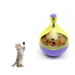 Interactive Dog Toys - Citmage Plastic Tumbler Pet Dispensin