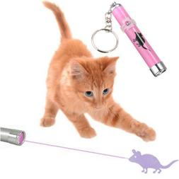 Interactive led Training Funny Cat Play Toy Laser Pointer Pe