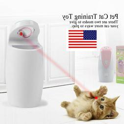 interactive pet cat toy moving laser interactive