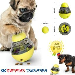 Interactive Tumbler Dog Cat Pet Food Leakage Toy Funny Food
