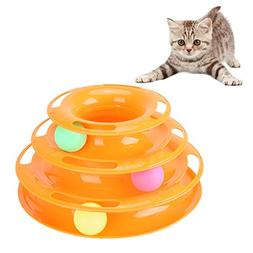 Petacc Interesting Cat Tower Toy Beautiful Cat Intelligence