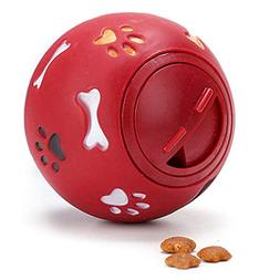 DJLOOKK IQ Treat Ball  for Dogs & Cats  - BPA Free-Strong To