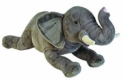 Wild Republic Jumbo Elephant Plush, Giant Stuffed Animal, Pl