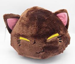 "15"" JUMBO Size Cute Nemuneko Cat Kitty Plush Doll ~Pretty Br"