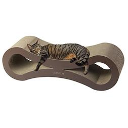 Petlo Jumbo Cat Scratching Cardboard Lounge - Durable Revers