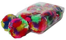 "Cancor Innovations Jumbo Crinkle Ball Cat Toy , 3.5"""