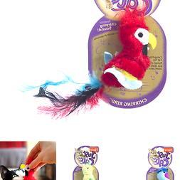 HARTZ Just For Cats Chirping Bird Plush Catnip Cat Toy
