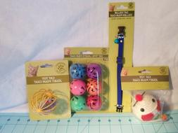 Greenbrier Kennel Club: Four Piece Cat Set - 3 Toys & a Blue