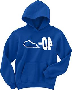 "Kentucky Wildcats National Champions ""40-0"" Hooded Sweatshir"