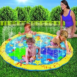Per Kids Inflatable Water Sprinkler Toy Splash And Spray Mat