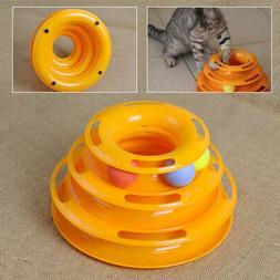 Kitty Cat Interactive Amusement Plate Trilaminar Crazy Ball