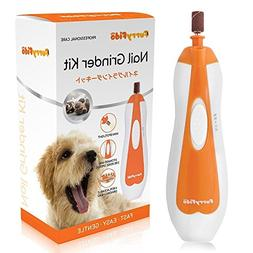Pet Nail Grinder File , Gentle, Powerful and Safe Paws Groom