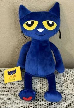 """KOHLS CARES FOR KIDS PETE THE CAT 12"""" PLUSH BLUE KITTY CAT-B"""