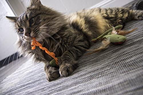 SmartyKat Friends Crinkle and Catnip Toys