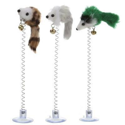 1 3pcs pet cat toys elastic feather