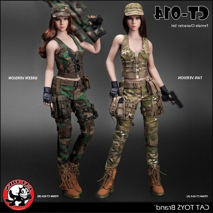 1 6 cat toys ct014 female combat